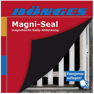 £70.80 • Buy Gully Cover Magni-Seal 60 X 60 CM Magnet Abdichtmatte Manhole Cover