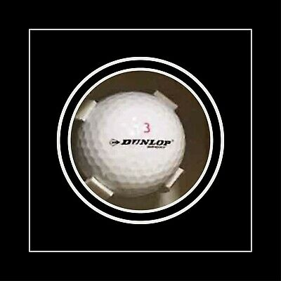 Golf Ball In Display Case Frame For Signed Golf Ball - Black Mount • 23£