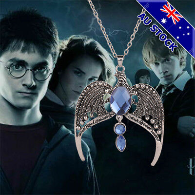 AU7.79 • Buy Harry Potter Ravenclaw Lost Diadem Tiara Crown Horcrux Necklace Pendant Cosplay