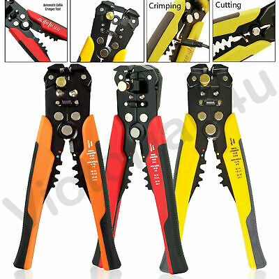 Self Adjustable Automatic Cable Wire Stripper Cutter Crimper Crimping Plier Tool • 7.39£