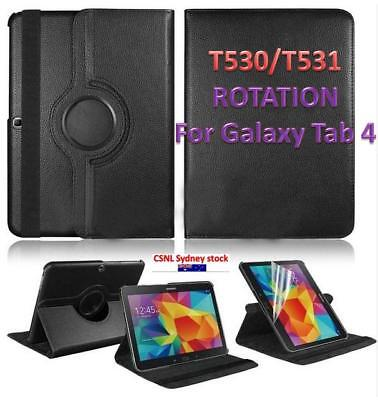 AU10.90 • Buy For Samsung Galaxy Tab 4 10.1 Inch T530 T531 Tablet Case 360 Degree Rotating Sta