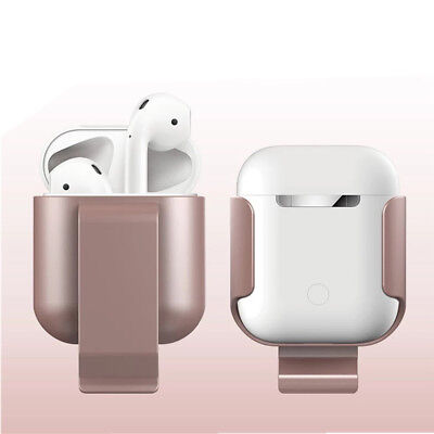 $ CDN6.21 • Buy Protective AirPods Accessories Belt Clip Case Holder Soft Coating Protect Apple