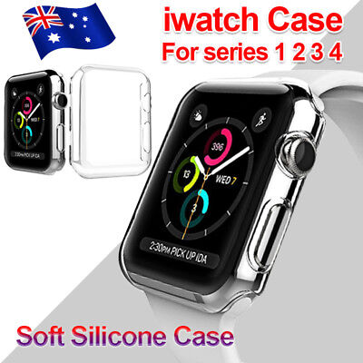 AU4.89 • Buy Full Cover TPU Case IWatch Screen Protector For Apple Watch Series 4 3/ 2 / 1 AU