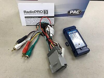 $69.99 • Buy PAC RP3-GM11 / **NEW** RADIO REPLACEMENT INTERFACE & HARNESS FOR GM W/o ONSTAR