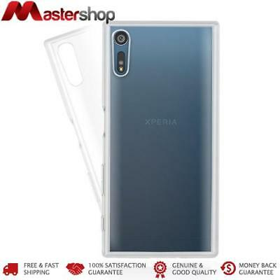 AU19.95 • Buy JTL Dual Protection Bumper Case For SONY Xperia XZ - Crystal