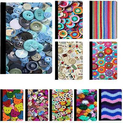 Knitting Crochet Sewing Haberdashery Case Cover For IPad 2 3 4 Air Mini Pro 9.7 • 11.99£