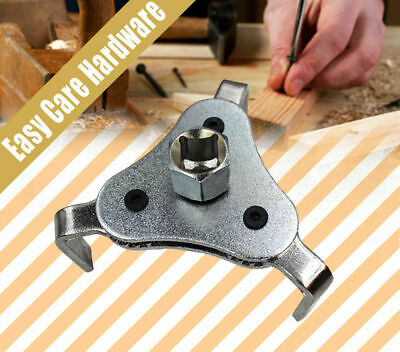 AU14.50 • Buy 3 Jaw Leg 2 Way Oil Filter Spanner Puller Remover Wrench 63-103mm 2.5''-4''