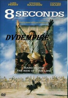 AU9.95 • Buy 8 Seconds DVD Luke Perry New And Sealed Australian Release