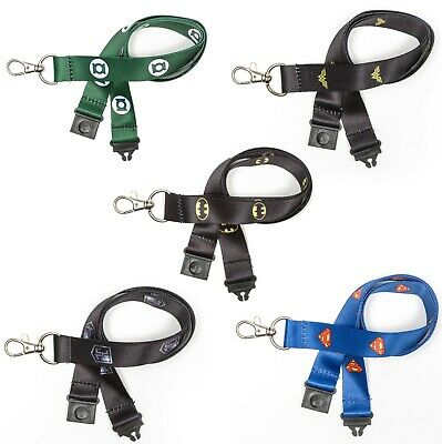 Justice League 20mm Lanyard With Metal Clip & Safety Break Away • 2.49£