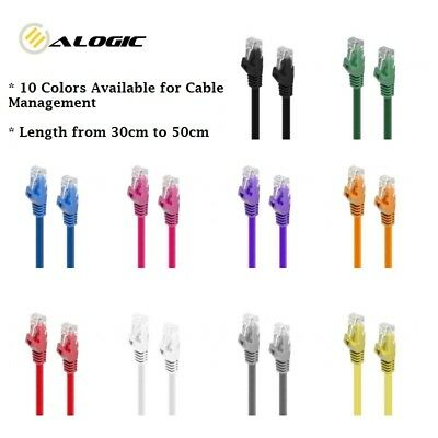 AU4.95 • Buy Alogic CAT6 Network Cable Lifetime Warranty 10 Colors Available From 0.3m To 50m