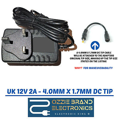 £9.95 • Buy 12V AC Adapter To Fit Philips DCB352 IPhone/iPod/iPad Micro System Dock Station