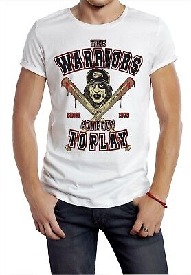 The Warriors T- Shirt Brooklyn New York Cult Movie Bat Gang Movie Retro Out To  • 4.99£