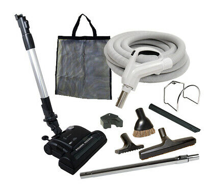 $335.95 • Buy 30' Or 35' Central Vacuum Kit W/Hose, Power Head & Tools Beam Kenmore Nutone