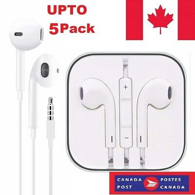$ CDN11.99 • Buy Earphones Ear Buds Headphone For IPhone 5 6 7 8 X XS 11 Pro With Mic And Volume