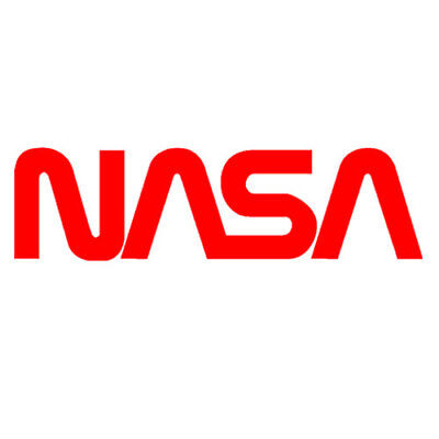 £1.50 • Buy 2x NASA Logo Vinyl Graphics Sticker Decals Car Scooter Laptop From 75mm To 150mm