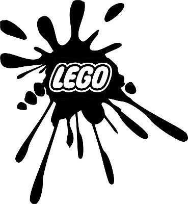 Lego Splat Logo Vinyl Graphics Sticker Decals Storage Box  From 75mm To 150mm • 2.50£