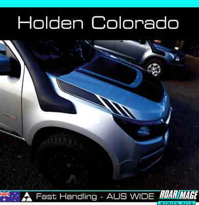 AU79 • Buy 2015-2021 HOLDEN Colorado Side Bonnet Stripes Decals Stickers Decal Sticker Z71