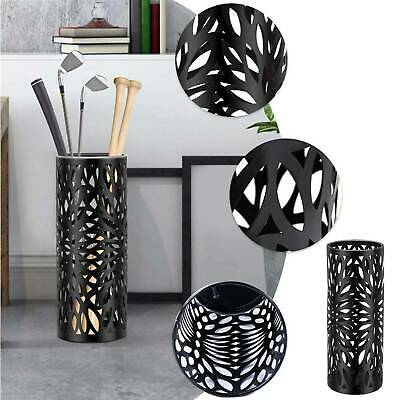 AU39.99 • Buy Fashion Steel Umbrella Stand Umbrella Walking Cane Stick Holder Storage In BLACK