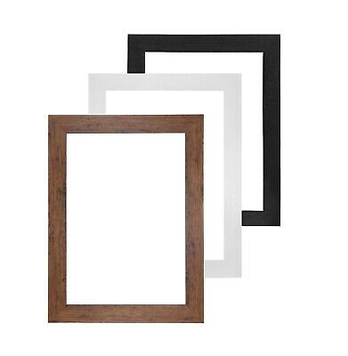 £3.70 • Buy A1 A2 A3 A4 A5 Black Photo Frame White Picture Frame Poster Frames Walnut