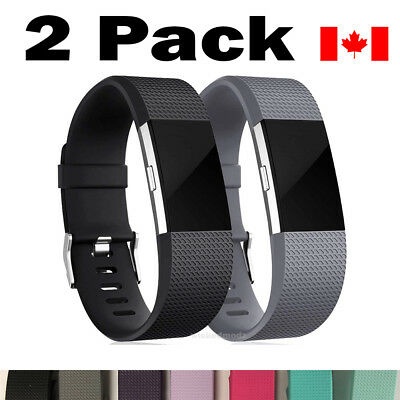 $ CDN11.49 • Buy For Fitbit Charge 2 Bands Replacement Wrist Strap Silicone Smart Watch Band S-L