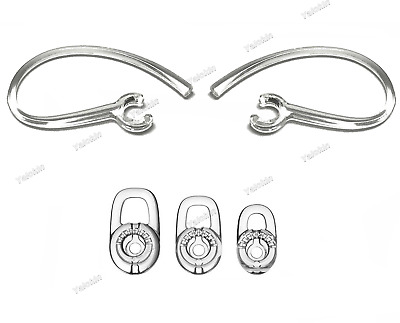 $ CDN19.63 • Buy NEW 2 Earloops And 3 S/M/L Eargels For Plantronics M25, M70, M90, M95, And M155