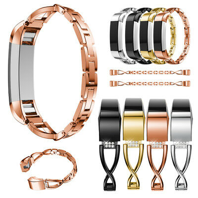 AU7.99 • Buy Bling Metal Wrist Band Replace Wristband Watch Strap Bracelet For Fitbit Alta HR