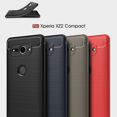 AU8.95 • Buy For SONY Xperia 5 XZ3 XZ4 Case Carbon Fiber Shockproof TPU Cover XZ2 Compact