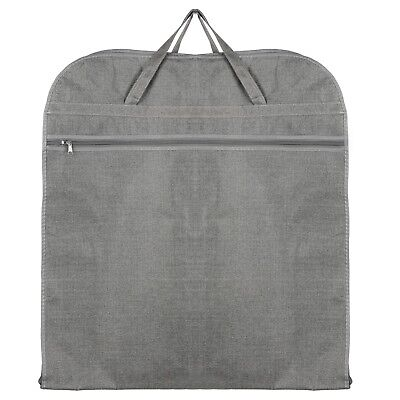 Hoesh Grey Breathable Mens Travel Suit Cover Carrier Garment Travel Bags • 13.99£