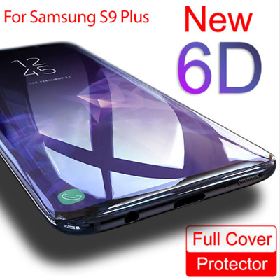 $ CDN3.65 • Buy For Samsung Galaxy S8 S9 Plus Note 8 6D Full Cover Tempered Glass Screen Protect