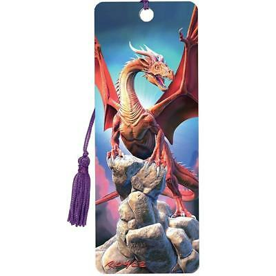 £3.95 • Buy 3D Bookmark - Red Dragon