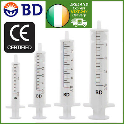 $ CDN9.33 • Buy Sterile Syringes 1ml 2ml 5ml 10ml 20ml | Genuine BD DISCARDIT™ II | Value Packs