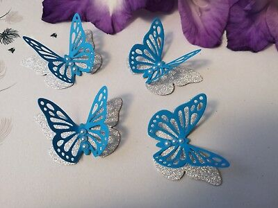 Butterflies-Wedding Birthday Hen Party Christening Table Decorations Handmade • 3.70£