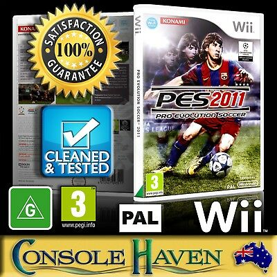 AU29.90 • Buy (Wii Game) Pro Evolution Soccer 2011 / PES 11 (G) (Sports: Football) PAL