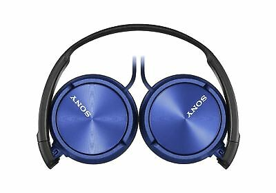 Sony MDR-ZX310 On-Ear Stereo Headphones - Foldable - Metallic Blue • 19.19£
