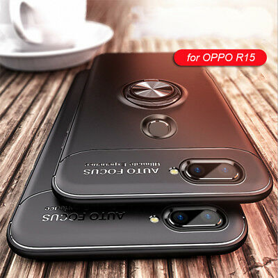 AU8.45 • Buy IPhone XS OPPO R15 Pro R9s R11 R11s Case New Ring Stand For Car Magnetic Bracket
