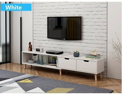 AU99 • Buy 130 - 178 Cm Adjustable TV Stand Entertainment Unit Cabinet And Coffee Table