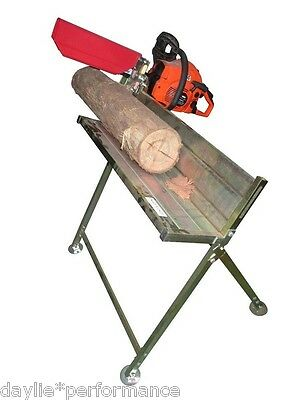 AU119 • Buy Chainsaw Log Horse Table Saw Tressle Stand Holder Chain Bench Firewood Cutting