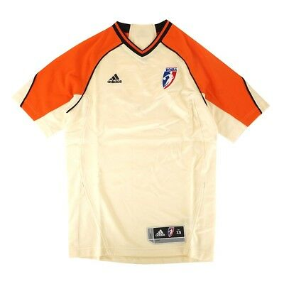 $ CDN19.70 • Buy WNBA Adidas Official League Issued Authentic Referee Ivory Jersey Men's Sizes