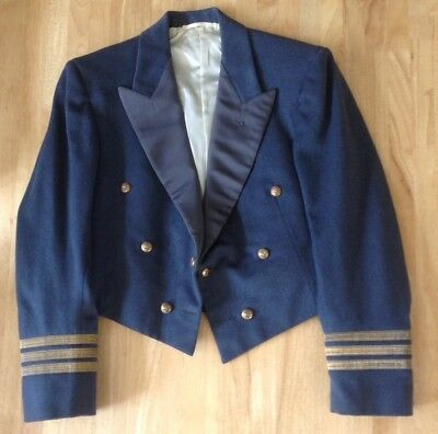 £35 • Buy Vintage RAF Mess Dress Jacket, With Stripes, Moss Bros, Excellent Condition