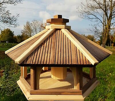 Wooden Bird Feeder, Feeding Station, Table, Bird's House, Free Delivery. • 53£