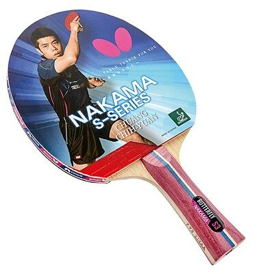 AU163 • Buy Nakama S-3 - Butterfly Table Tennis Bat With Rubber