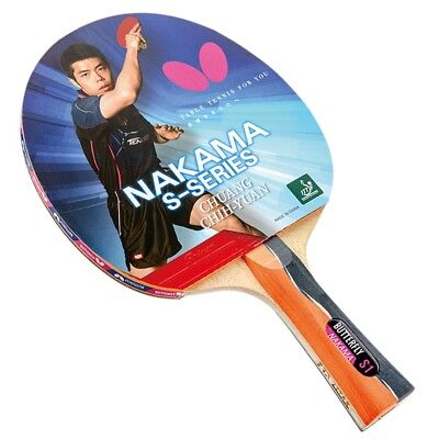 AU179 • Buy Nakama S-1 - Butterfly Table Tennis Bat With Rubber