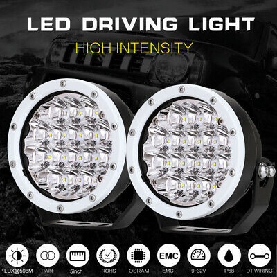 AU72.96 • Buy 2x 5inch OSRAM LED Spot Driving Lights Round Spotlight Work White Offroad4X4 ATV