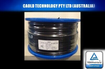 AU199.95 • Buy 50 Meter Roll 6mm Twin Core Solar Power Cable PV Photovoltaic Free Postage 50m