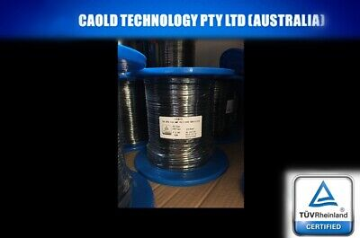 AU109.47 • Buy 50 Meters Of 4mm Twin Core Solar Cable PV1-F Free Postage 50m