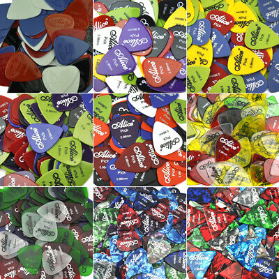 $ CDN13.24 • Buy Lots Of 100pcs Heavy 0.96mm Alice Guitar Picks Plectrums For Electric Guitar