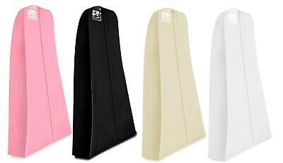 £7.49 • Buy Hoesh Breathable Large Bridal Gown Clothes Wedding Prom Dress Cover Garment Bags