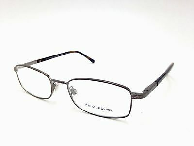 21b82c69bb48  155 Polo Ralph Lauren Mens Brown Eyeglasses Clear Lens Frame Glasses Ph  1122 • 69.95