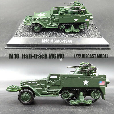 $23.91 • Buy WWII M16  Half-track MGMC 1/72 DIECAST MODEL Finished Multi Gun Motor Carriage