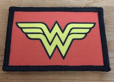 $7.99 • Buy Wonder Woman LOGO Morale Patch Military Tactical Army Flag USA Hook Badge
